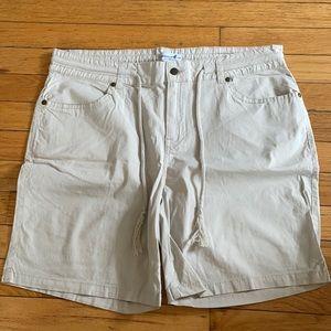Caribbean Joe Khaki Shorts Size 12